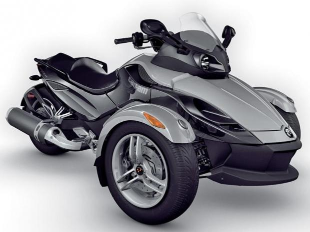 New line includes 11 colors used on Can-Am Spyder models from 2008 to 2012