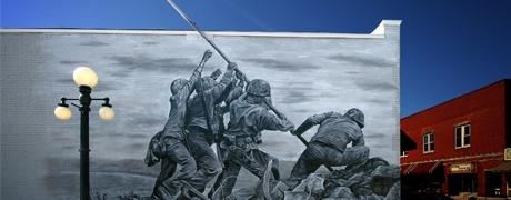 Seal-Krete Dura-Shell Coating System Protects and Preserves WWII Memorial Mural