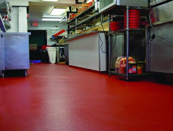 Topcoat formulation gives urethane flooring a continuous, competitive edge in food, pharma and chemical industries.