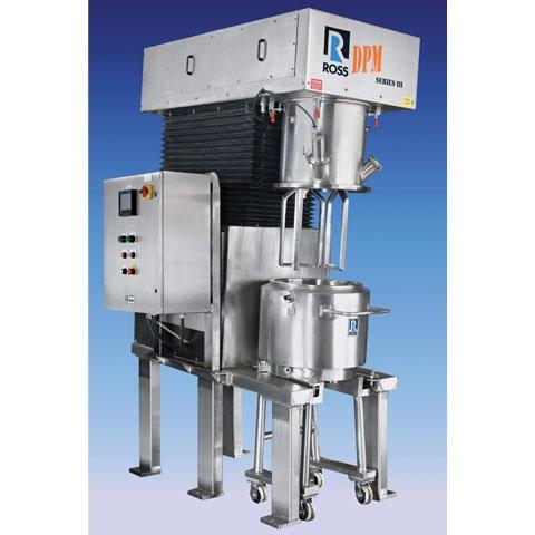 Ross offers tilted design double planetary mixers.