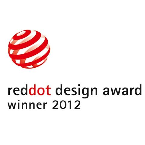 "The coveted ""red dot"" has become established as an internationally recognized seal of quality and is awarded in the three disciplines of product design, design concepts and prototypes and communication design."