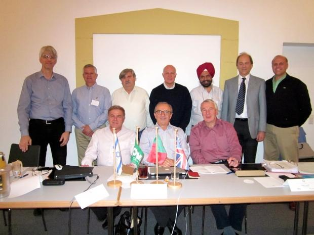 Nova  Board  Members  meeting together   in  Ludwigsburg