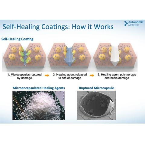 AMI Offers Polymers for Seal-Healing Coatings Technologies