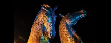 The Kelpies Protected by AkzoNobel Coatings