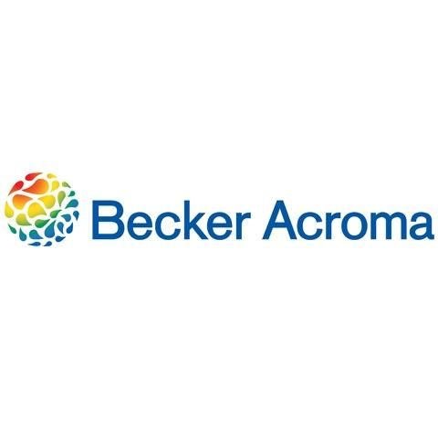 New Becker Acroma logo.