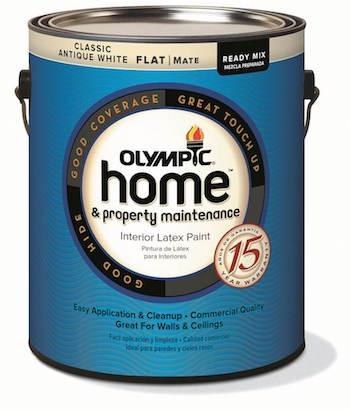 Furthermore, Each Of The Olympic Brandu0027s More Than 1,000 Colors Can Be  Tinted In The Olympic Home U0026 Property Maintenance Flat Finish. In Addition  To Flat, ...