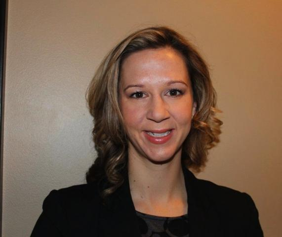 Christina Pross, the new marketing manager at Ferguson Chemical Innovation.