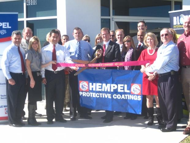 Hempel opens warehouse in Deer Park, Texas