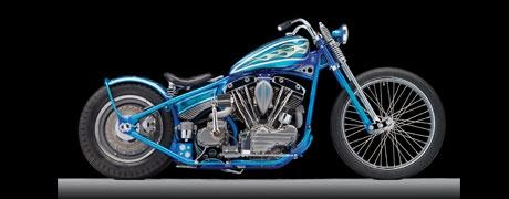 "Bill Steele's PPG Painted ""Blue Baller"" Named Easyrider's Bike of the Year"