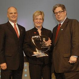 General Motors names BASF Supplier of the Year 2010