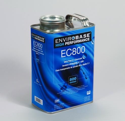 PPG introduces Envirobase High Performance EC800 Ultra Fast Clearcoat